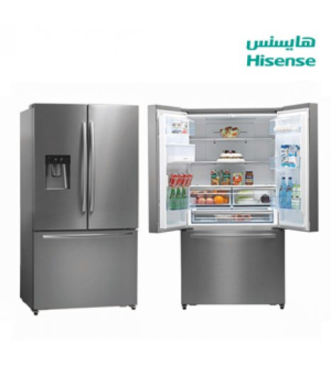 Hisense Ref (3) Doors (20.13) Cuft, Water dispenser , 60Hz, Steel