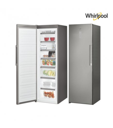 Whirlpool freezer, (9.67) Cuft , Steel