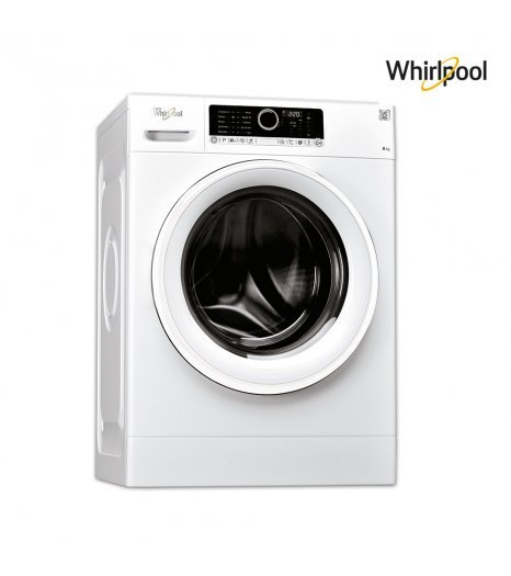 Whirlpool Washing machine (8)KG, (14)P, 6ᵀᴴ Sense , White