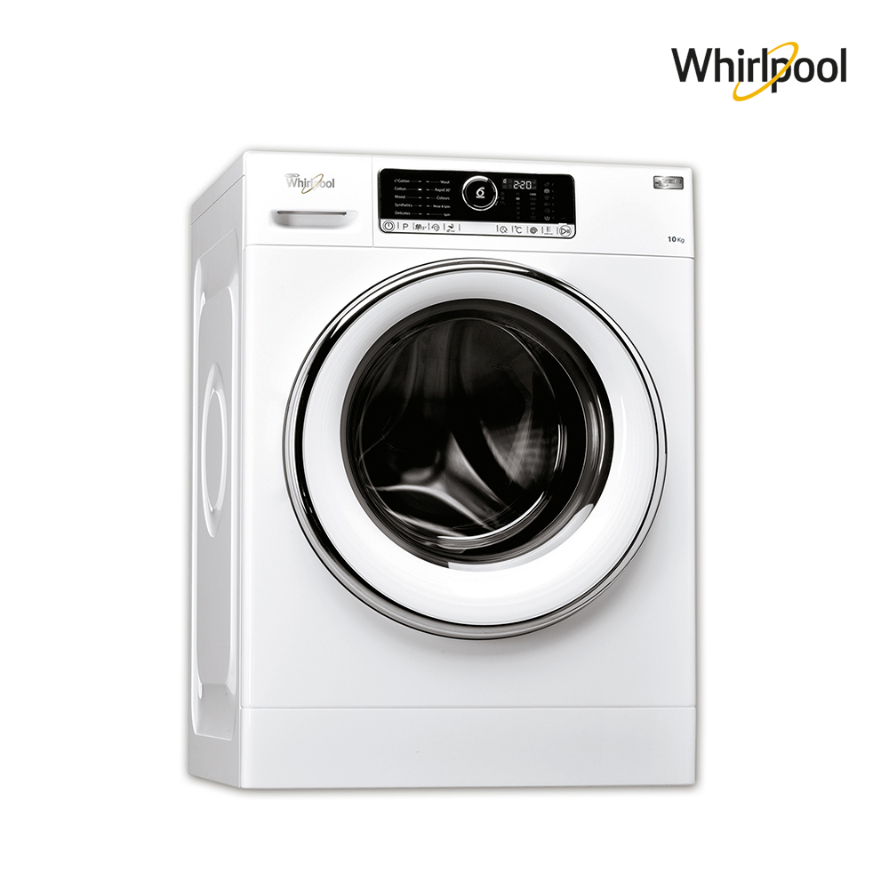 Whirlpool Washing machine (10)KG, (14)P, 6ᵀᴴ Sense , White