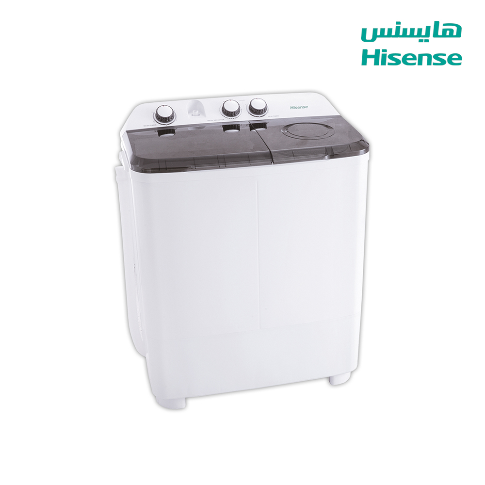 Hisense Washing Machine (6) Kg , Dryer capacity (4)Kg , White