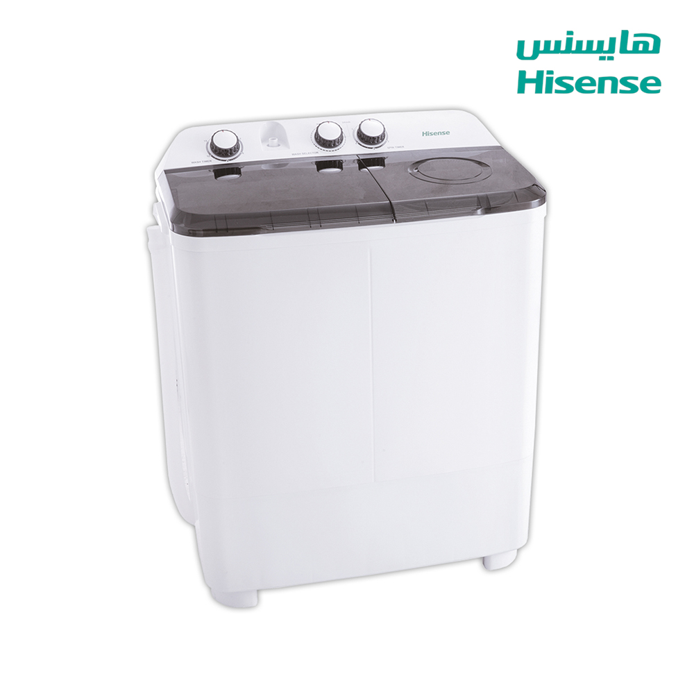 Hisense Washing Machine (8) Kg , Dryer capacity (5.5)Kg , White