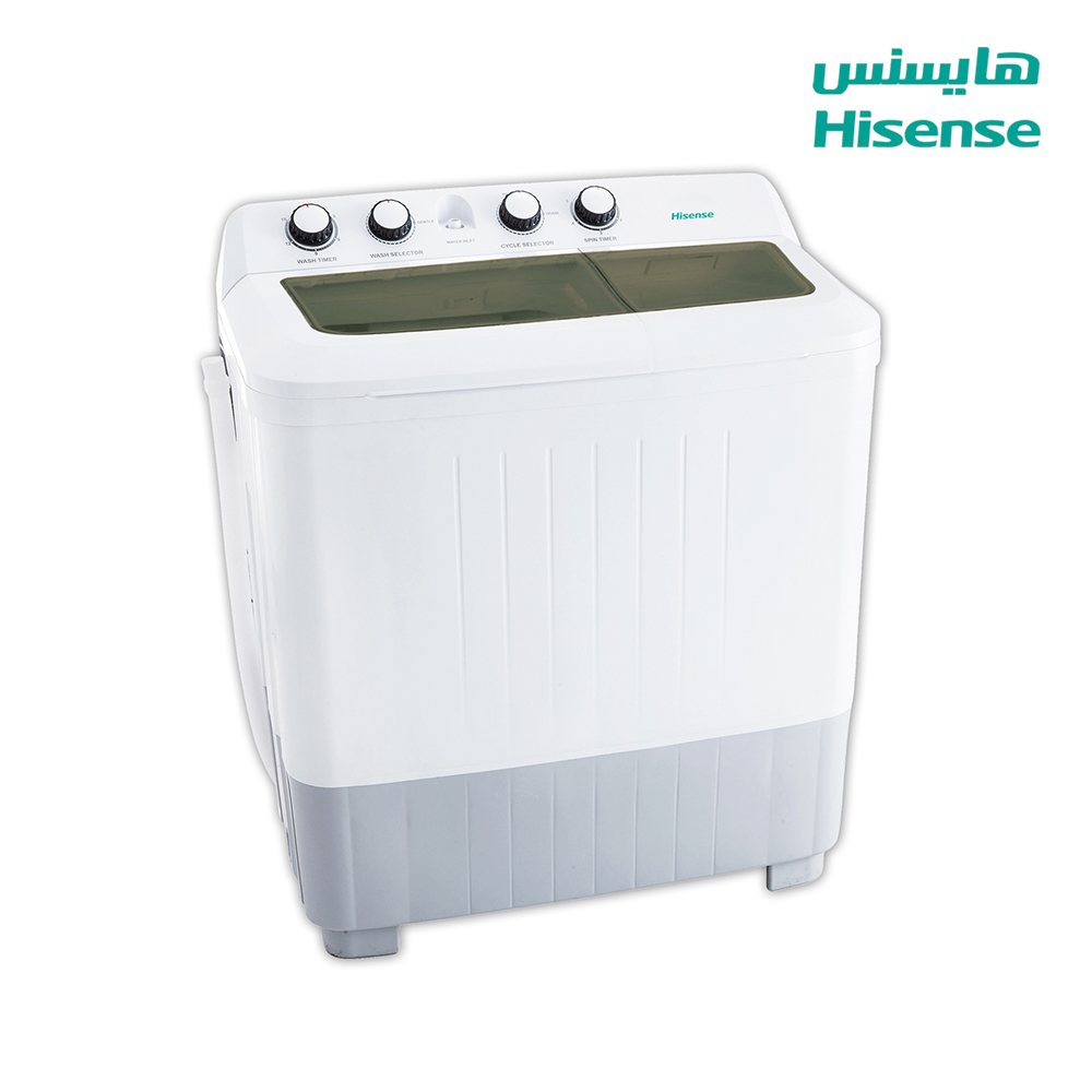 Hisense Washing Machine (12) Kg , Dryer capacity (7.5)Kg , White