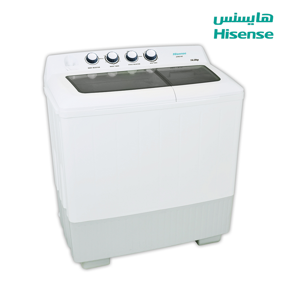 Hisense Washing Machine (14) Kg , Dryer capacity (7.5)Kg , White