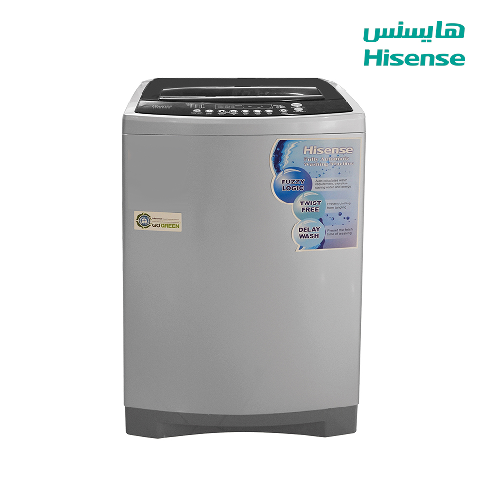 Hisense Washing Machine (14) Kg ,(6) p , gray