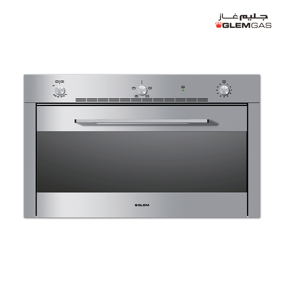 Glem Gas Built-in Oven Gas, Grl, 89.5 cm,5 Fun,Static