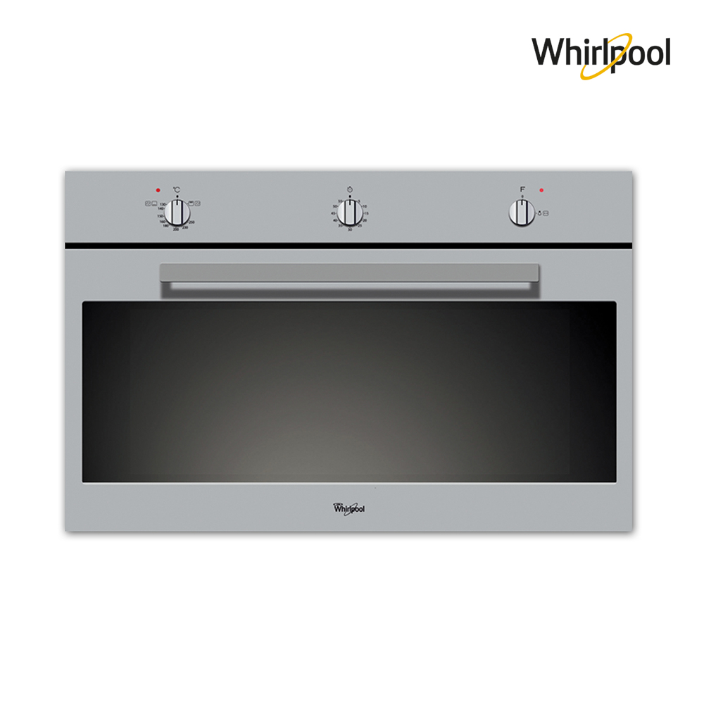 Whirlpool Gas Oven (89.5)cm, (3) functions