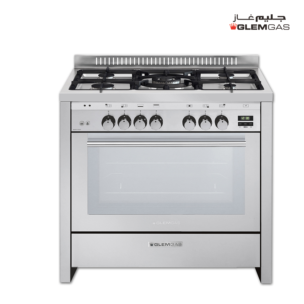 Glem Gas Cooker (60X90), Full Safety, MF, Steel