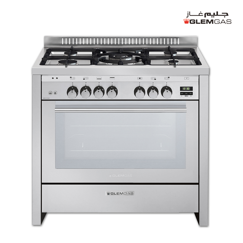 Glem Gas Cooker (60X100), Full Safety, MF, Steel