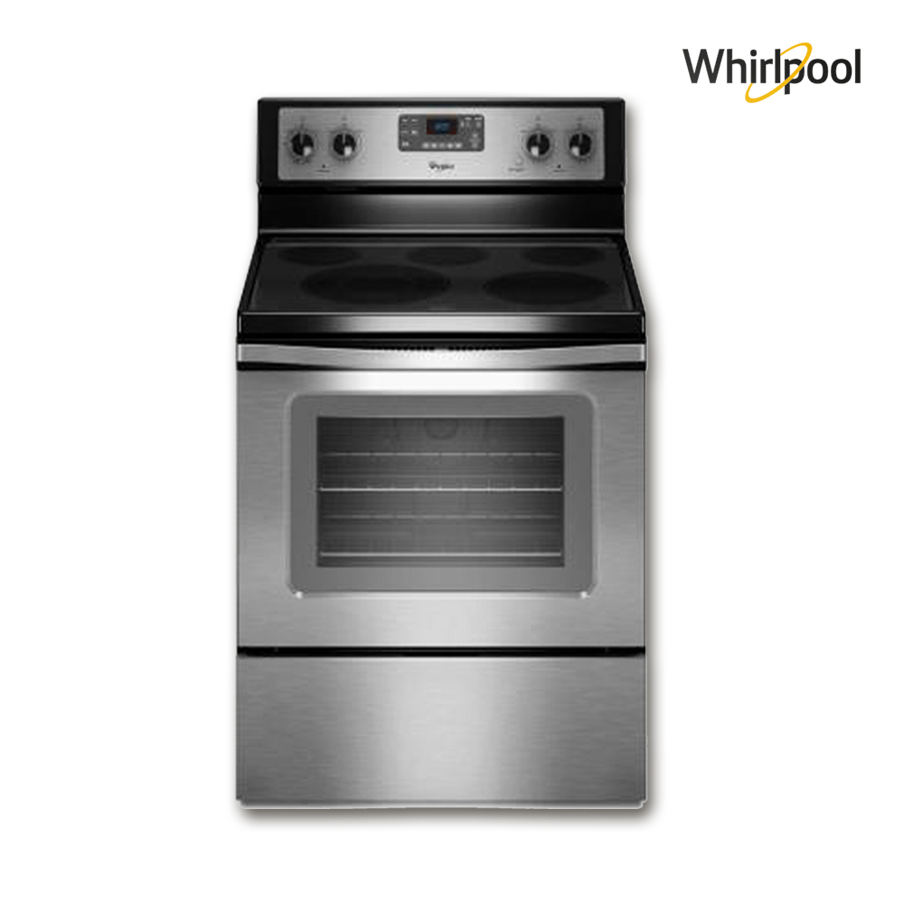 Whirlpool Electric Cooker, Capacity = (5.3) Cuft