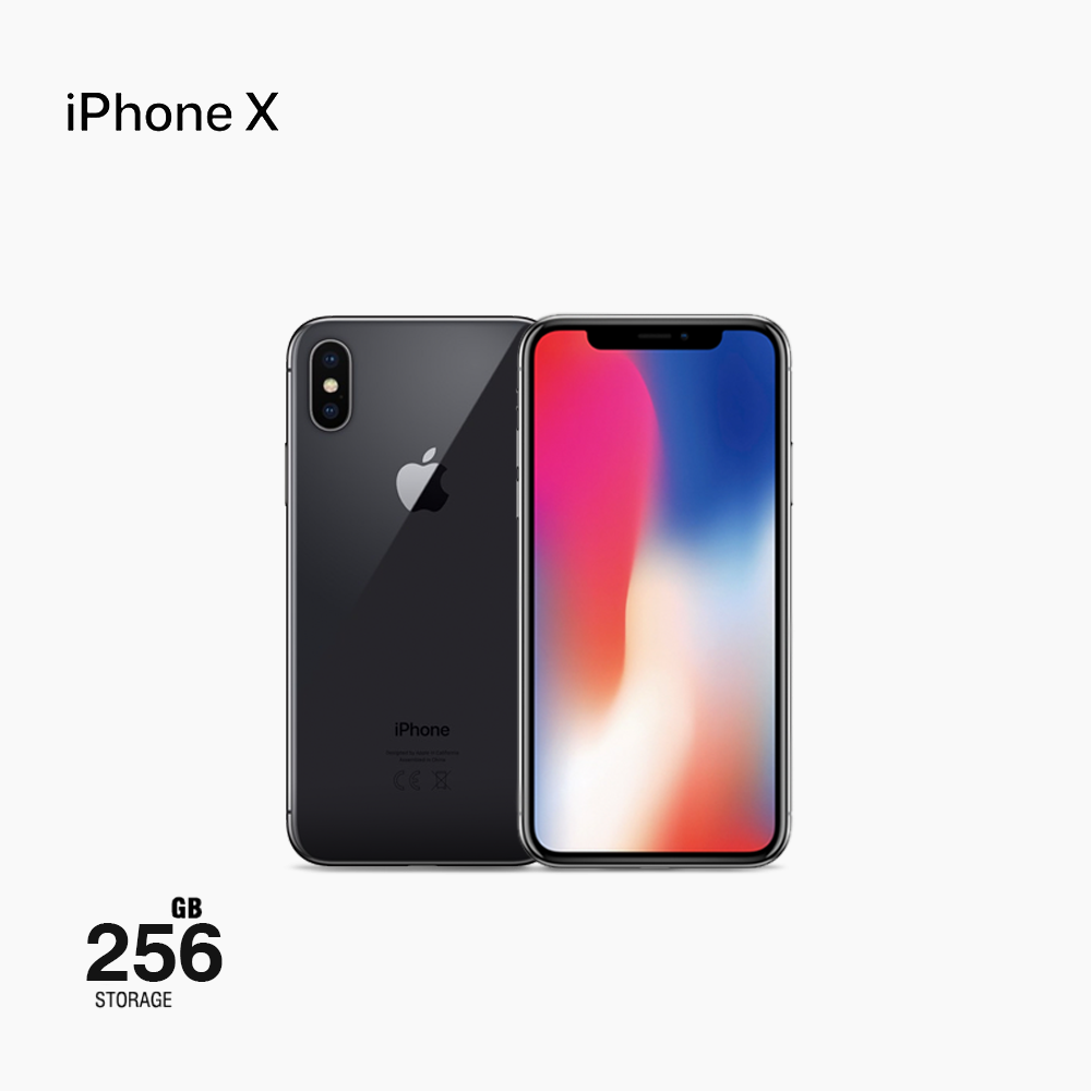 Apple iPhone X, LTE, 5.8 Inch, 256GB, Space Gray