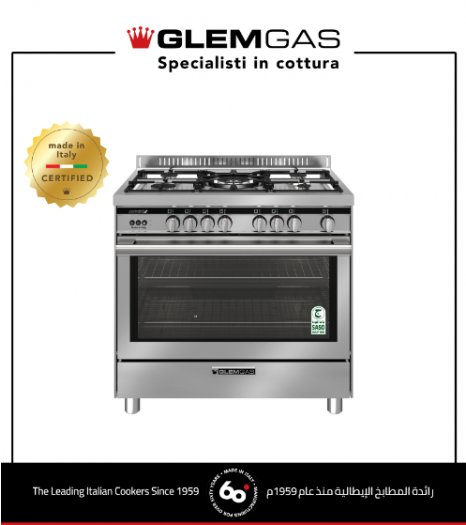 Cooker Gas 60X90,FS,MF,Fn-St